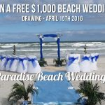 Win a $1000 Beach Wedding