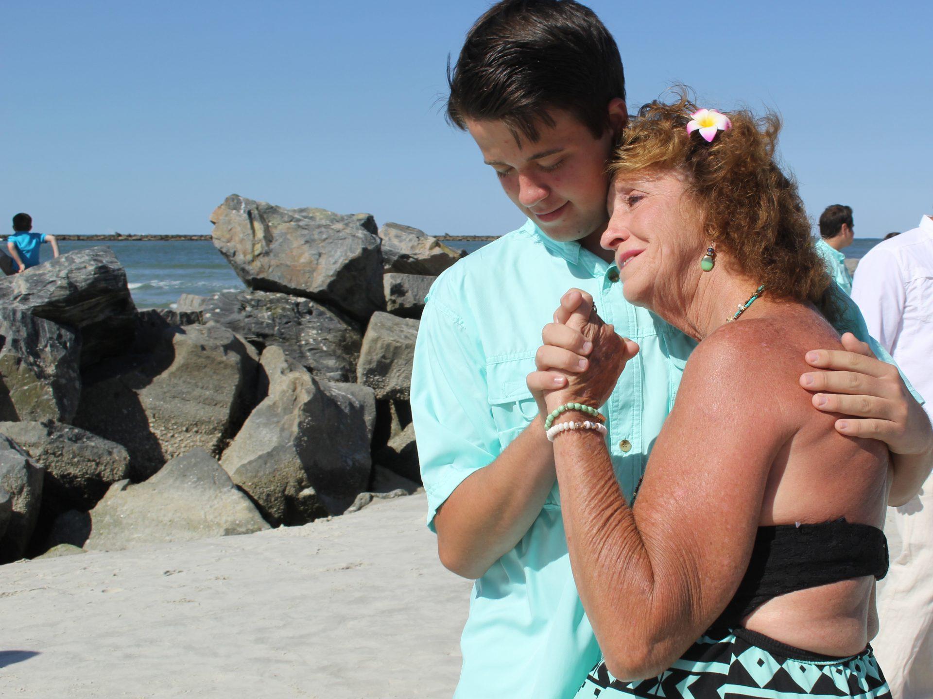 grandson grandma dance beach and destination weddings new smyrna